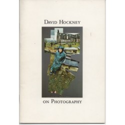 David Hockney genuine original autographed book