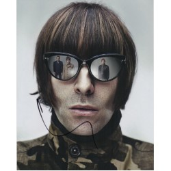 Liam Gallagher Oasis signed authentic autograph photo