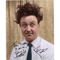 Ken Dodd Comedy Legend genuine original autographed photo