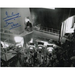 Dave Prowse Darth Vader Star Wars signed genuine signature photo 5