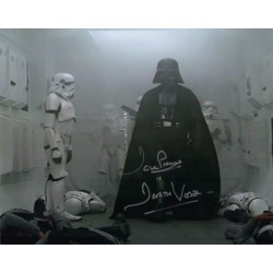 Dave Prowse Darth Vader Star Wars signed genuine signature photo 11