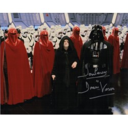Dave Prowse Darth Vader Star Wars signed genuine signature photo 10
