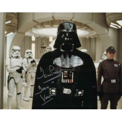 Dave Prowse Darth Vader Star Wars signed genuine signature photo 8