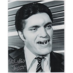 SOLD Richard Kiel Jaws James Bond genuine signed autograph photo 4
