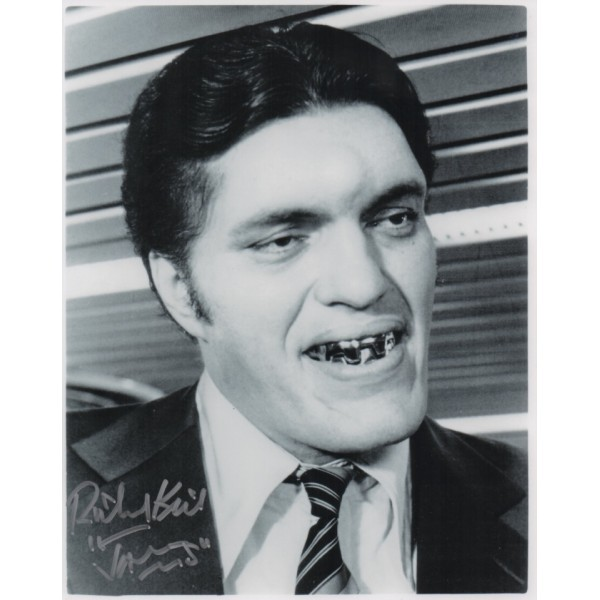 Richard Kiel Jaws James Bond genuine signed autograph photo 4