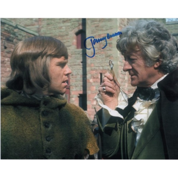 Jeremy Bulloch Doctor Who signed genuine signature photo 7