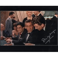 Stanley Morgan James Bond signed genuine signature photo
