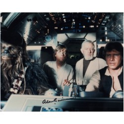 Alec Guinness Star Wars rare signed genuine autograph signature photo