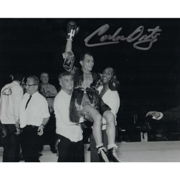 Carlos Ortiz signed authentic autograph photo