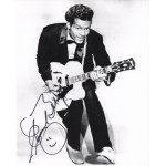 Chuck Berry signed genuine signature authentic signed image