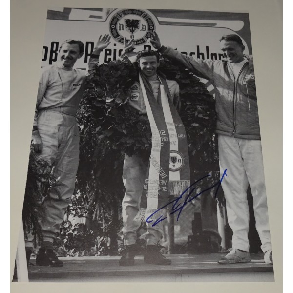 Dan Gurney Eagle F1 genuine signed authentic signature photo