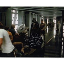 Dave Prowse Darth Vader Star Wars signed genuine signature photo 4
