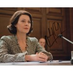 Helen McCory Skyfall James Bond signed genuine signature photo