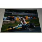 Jackie Stewart Derek Bell genuine signed authentic signature photo