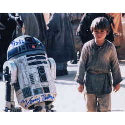 Kenny Baker Star Wars signed genuine signature photo 6