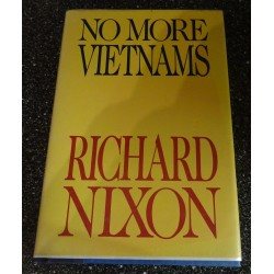 Richard Nixon US President genuine original autographed book