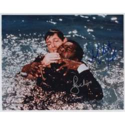 Roger Moore Yaphet Kotto James Bond genuine authentic autograph signed photo 6.