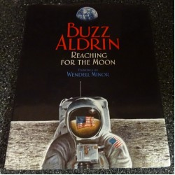 SOLD Buzz Aldrin genuine original autograph signed children's book 2