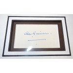 Alec Guinness Star Wars genuine signed autograph signature display.