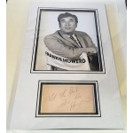 Frankie Howard Carry on comedy genuine signed autograph signature display.