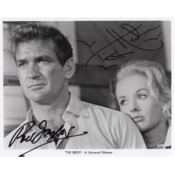 Tippi Hedren Rod Taylor Hitchcock genuine signed authentic signature photo