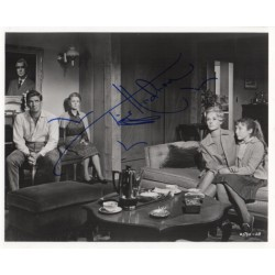 Tippi Hedren The Birds genuine signed authentic signature photo