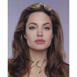Angelina Jolie genuine signed autograph photo