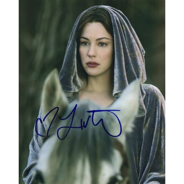 Liv Tyler Lord of the Rings genuine signed autograph photo