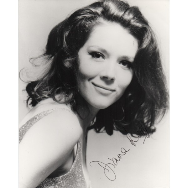 Diana Rigg James Bond genuine signed autograph photo 3