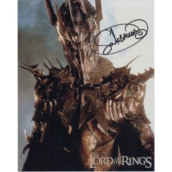 Sala Baker Lord of the Rings genuine signed autograph photo