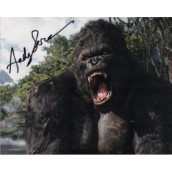 Andy Sirkis King Kong genuine signed autograph photo