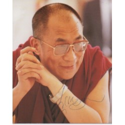 Dalai Lama genuine authentic signed autograph photo 3
