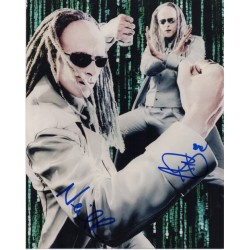 Neil & Adrian RAYMENT Matrix Twins genuine authentic genuine signed photo