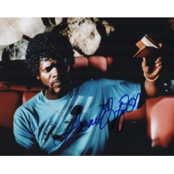 Samuel L Jackson Pulp Fiction genuine authentic genuine signed photo