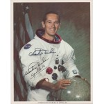 Charlie Duke Apollo 16 authentic genuine authentic genuine signed litho image