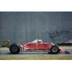 Jody Scheckter Ferrari F1 genuine authentic autograph signed photo 7.