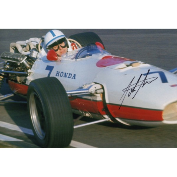 John Surtees Honda F1 genuine authentic autograph signed photo 9.