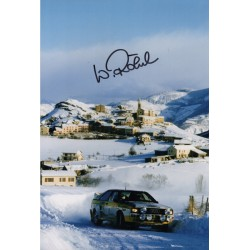 Walter Rohrl Audi Rally genuine authentic autograph signed photo.