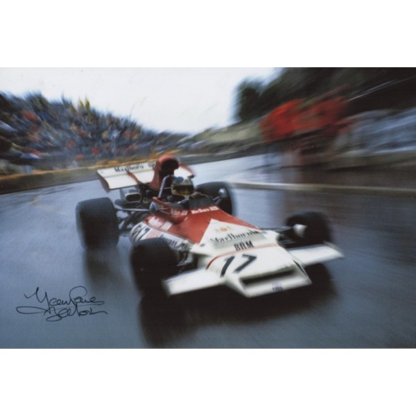 Jean Pierre BRM F1 genuine authentic autograph signed photo 10.