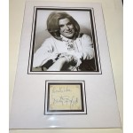 Dusty Springfield genuine signed autograph signature display 2.