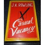 J K Rowling Casual Vacancy genuine authentic autograph signed book.