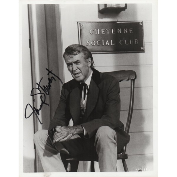 James Stewart genuine authentic genuine signed photo