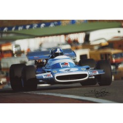 Jean Pierre Beltoise Matra F1 genuine authentic autograph signed photo 7.