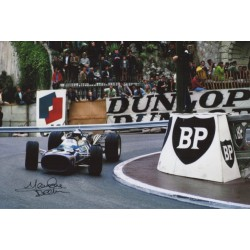 Jean Pierre Beltoise Matra F1 genuine authentic autograph signed photo 8.