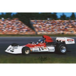Jean Pierre Beltoise BRM F1 genuine authentic autograph signed photo 9.