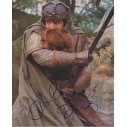 John Ryhs Davies Lord of the Rings genuine signed authentic signature photo 3