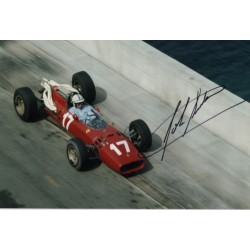 John Surtees Ferrari F1 genuine authentic autograph signed photo 10.