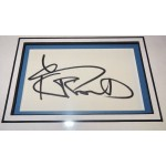 Lenny Kravitz genuine signed autograph signature display.