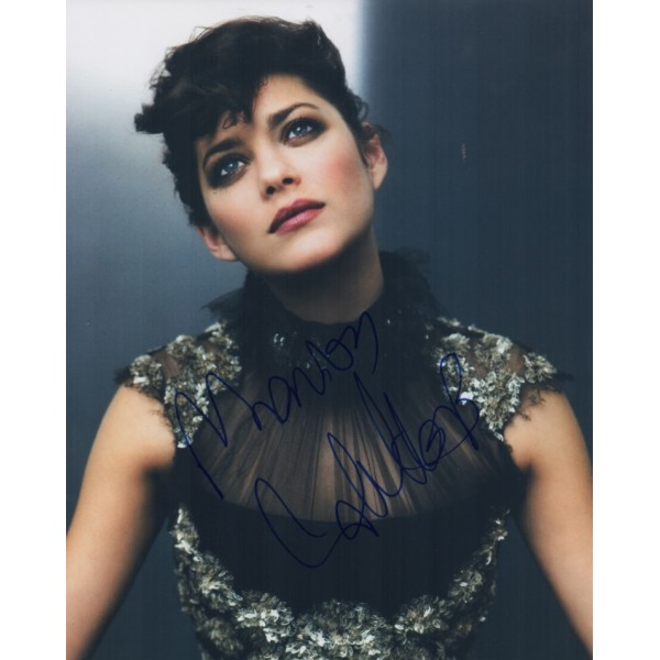 Marion Cotillard 'Piaf' genuine signed autograph photo