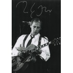 Mark Knopfler Dire Straits music genuine signed autograph photo